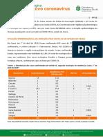 Informe diário Coronavirus Ceará