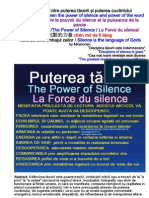 Puterea tacerii/The Power of Silence La Force du silence 沉默的力量