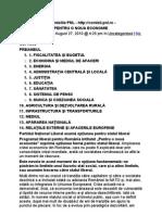 Programul PNL Pentru o Noua Economie