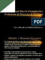 Manual Para la Formulación y Evaluación de Proyectos