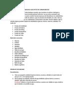 ANÁLISIS CUALITATIVO DE CARBOHIDRATOS