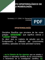 EL ESTATUTO EPISTEMOLÓGICO DE LA MUSEOLOGÍA