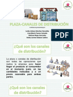 Plaza o Distribución