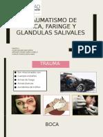 TRAUMATISMO DE BOCA, FARINGE Y GLANDULAS SALIVALES
