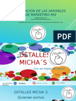PRESENTACION DE LAS CUATRO 4S DE DETALLES MICHA´S.pptx
