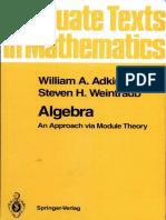 Algebra Abstract-Bagian Modul (ADKINS)