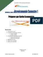 cours Microéconomie - Karim Economiste