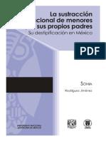 04 La Sustraccion Internacional de Menores por Sus Propios Padres. Su Destipificacion en Mexico -.pdf