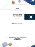 Unidad 2 Tarea 2 Sistema de Ecuaciones Lineas Rectas y Planos