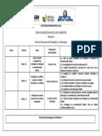 Conteúdo Programático Módulo II - EAD