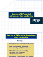 Lecture 7a - Sources of Differential Advantage -- Cost Leadership rev