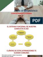 5.- HERRAMIENTAS DE DIAGNOSTICO EN EL COMPORTAMIENTO