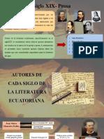 El siglo XIX - PROSA (SÍ) - DIAPOSITIVAS