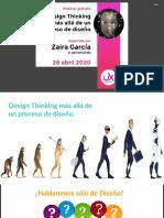 Design Thinking más allá que un proceso de diseño