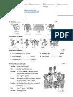 FF4 - Unit 4 WS 3 -adverbs - possessive adj-tenses