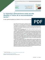 La réparation sphinctérienne anale est-elle obsolete à l'heure de la neuromodulation sacrée.pdf