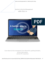 Introduction to Service Management with ITIL 4 – ITIL® 4 Exam by Dion Training