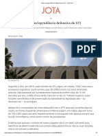 Ainda a jurisprudência defensiva do STJ - JOTA Info