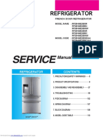 SAMSUNG RF28HM SERIES SERVICE MANUAL