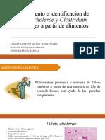 AISLAMIENTO DE Vibrio cholera A PARTIR DE MUESTRA DE PESCADO EXPOSICION
