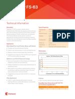 capstone fs 63 technical info