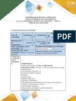 Guía de actividades y rúbrica de evaluación  Aplicar una entrevista (4)