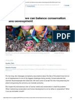 how we can balance conservation and development _ World Economic Forum