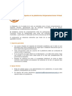 Netiqueta en la plataforma Unipanamericana Virtual