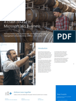 MS A Crash Course in Microsoft 365 Business