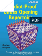 An Idiot-Proof Chess Opening Repertoire - Burgess