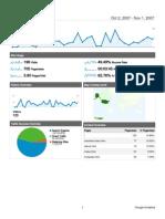 Analytics wwrhcc org 20071002-20071101 (DashboardReport)