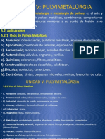 5ta UNIDAD V PULVIMETALURGIA.pptx conformado.pptx