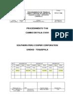 PROCEDIMIENTO DE CAMBIO DE FAJA CV001 SPCC REVISION 2.pdf