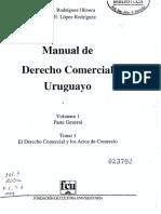 Manual de Derecho Comercial T1 Vol 1 Parte General - Nuri Rodriguez (Ed 1 2004).pdf · versión 1.pdf