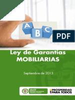 Cartilla sobre Garantías Mobiliarias
