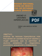 UNIDAD VI LESIONES HIPERPLÁSICAS