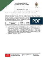 1583487068-afisare rezultat final concurs Compartimentul Centenar 04.03. 2020.doc
