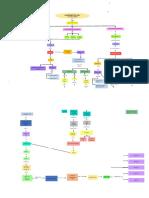 mapa conceptual  de la función de los riñones