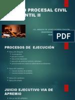 PROCESOS DE EJECUCIÓN, VIA DE APREMIO (1)