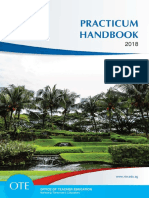 Teaching Practicum handbook 2018 (Singapore)