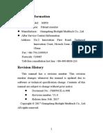 M850 user manual