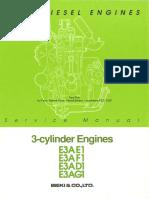 Iseki E3AE1 repair manual