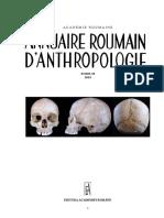 Annuaire Roumain d'Anthropologie 2019