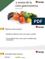 Clase 2 Costos de la Producción Gastronómica