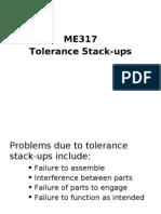 Tolerance Stacks