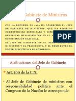 Jefe de Gabinete de Ministros