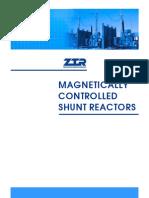 Controlled Shunt Reactors Brochure