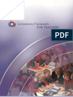 Competency Framework for Teachers