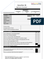80762_CareerStart Application Cover Sheet