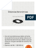 distancias astronómicas